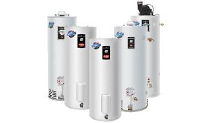 Bradford water heaters family