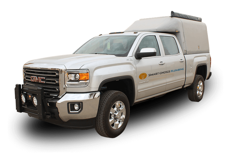 Smart choice plumbing truck